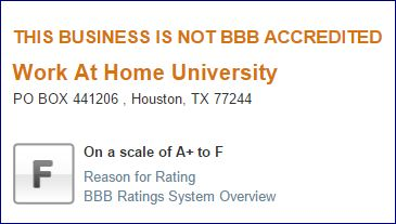 WAH University BBB Review