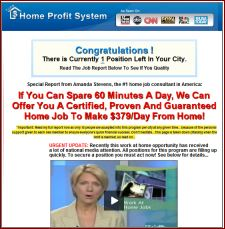 Home Income Profit System You Tube