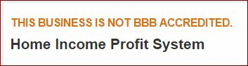 Home Profit System bbb