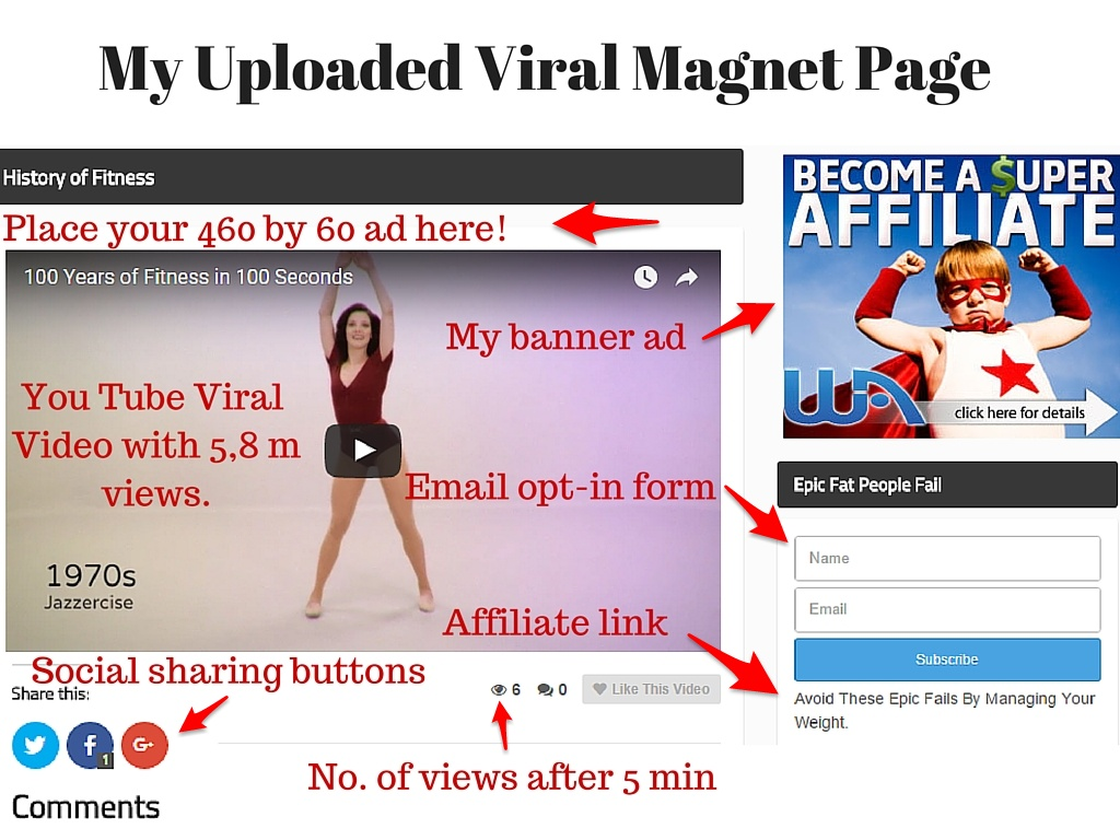 Viral Magnet Page