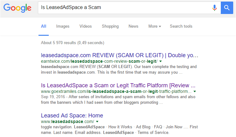 is leasedadspasce a scam